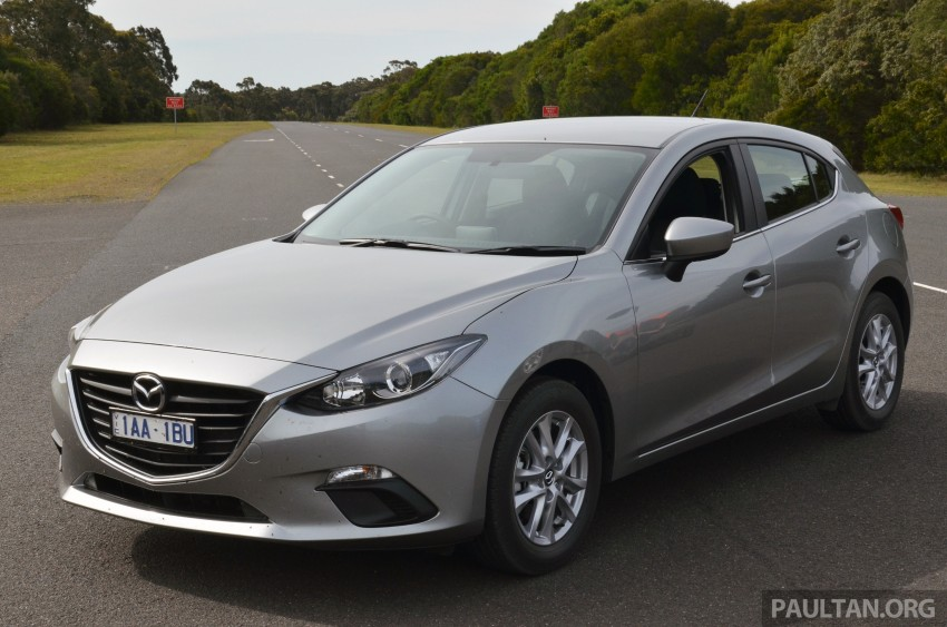 DRIVEN: Mazda3 third-gen 2.0 and 2.5 in Australia Image #218822