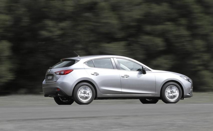 DRIVEN: Mazda3 third-gen 2.0 and 2.5 in Australia Image #218825