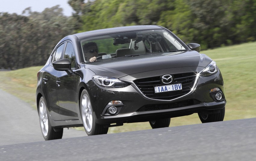 DRIVEN: Mazda3 third-gen 2.0 and 2.5 in Australia Image #218826