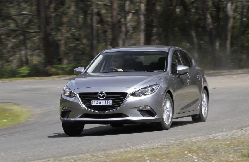 DRIVEN: Mazda3 third-gen 2.0 and 2.5 in Australia Image #218830