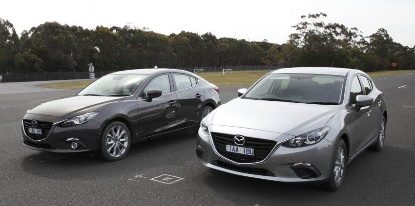 DRIVEN: Mazda3 third-gen 2.0 and 2.5 in Australia Image #218832