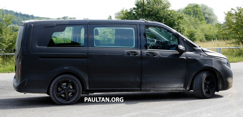 W447 Mercedes-Benz V-Class/Viano sighted on test Image #216135