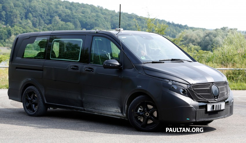 W447 Mercedes-Benz V-Class/Viano sighted on test Image #216136