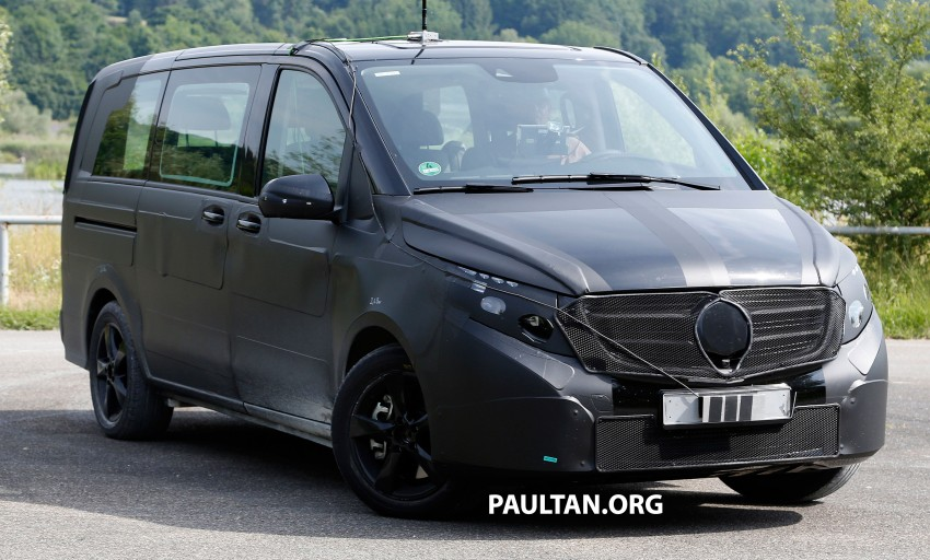 W447 Mercedes-Benz V-Class/Viano sighted on test Image #216137