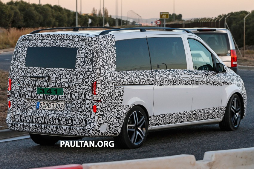 W447 Mercedes-Benz V-Class/Viano sighted on test Image #216139