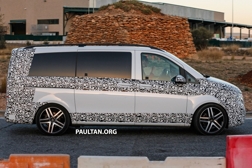W447 Mercedes-Benz V-Class/Viano sighted on test Image #216141