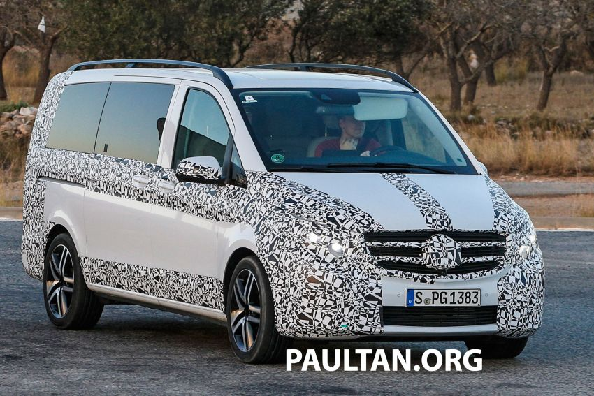 W447 Mercedes-Benz V-Class/Viano sighted on test Image #216142