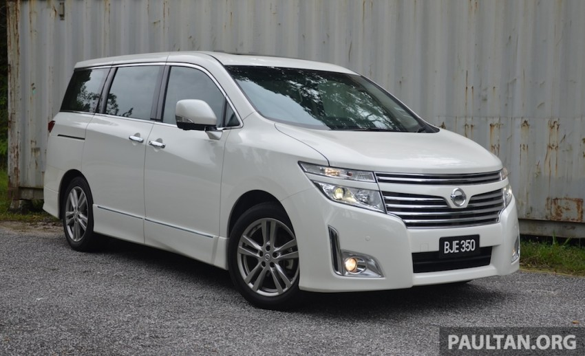 DRIVEN: Nissan Elgrand 3.5 V6 – all about comfort Image #219014