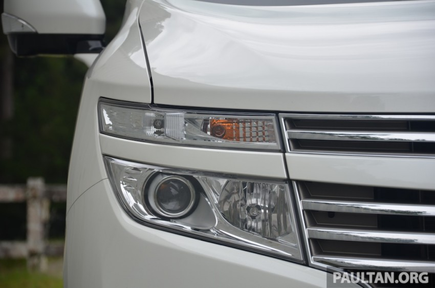DRIVEN: Nissan Elgrand 3.5 V6 – all about comfort Image #219006