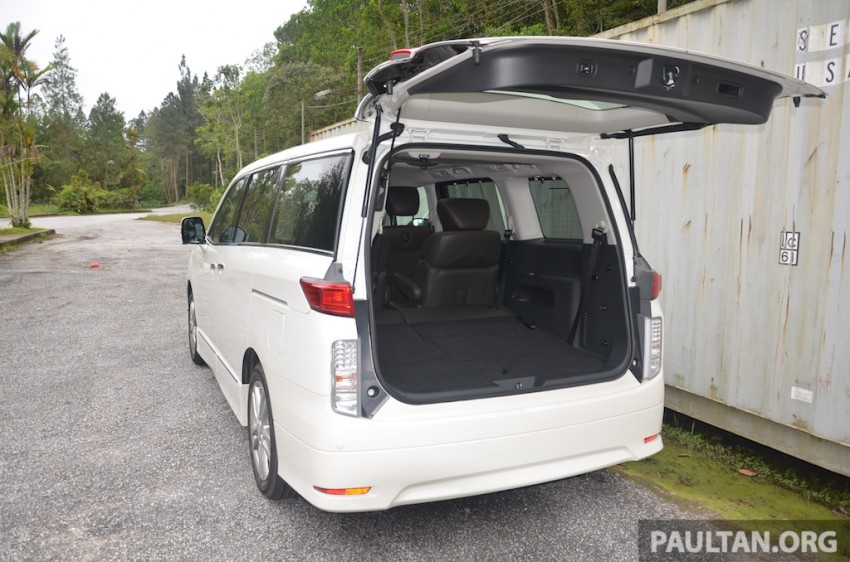 DRIVEN: Nissan Elgrand 3.5 V6 – all about comfort Image #219003