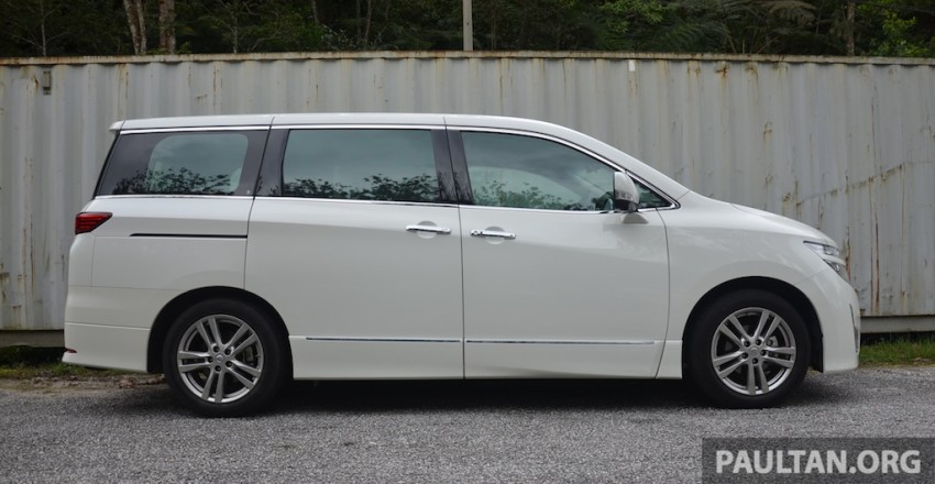 DRIVEN: Nissan Elgrand 3.5 V6 – all about comfort Image #219015