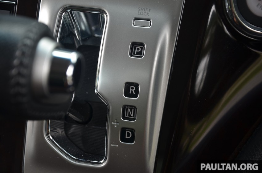 DRIVEN: Nissan Elgrand 3.5 V6 – all about comfort Image #218995