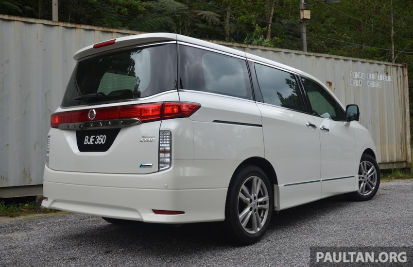 DRIVEN: Nissan Elgrand 3.5 V6 – all about comfort Image #219013