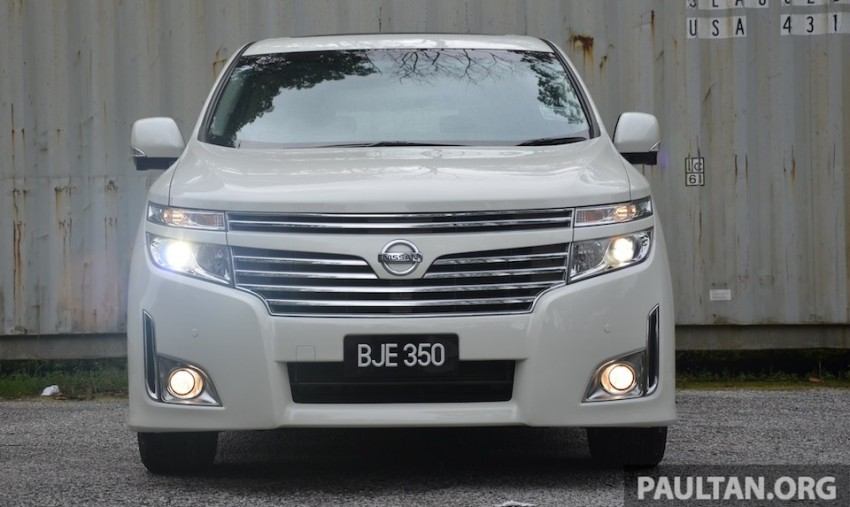 DRIVEN: Nissan Elgrand 3.5 V6 – all about comfort Image #219012