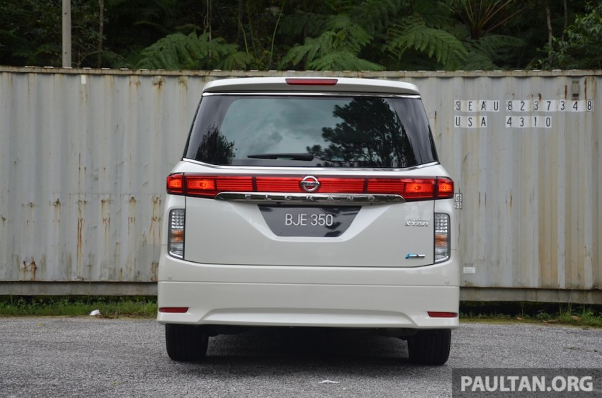 DRIVEN: Nissan Elgrand 3.5 V6 – all about comfort Image #219011