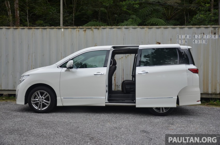 DRIVEN: Nissan Elgrand 3.5 V6 – all about comfort Image #219010