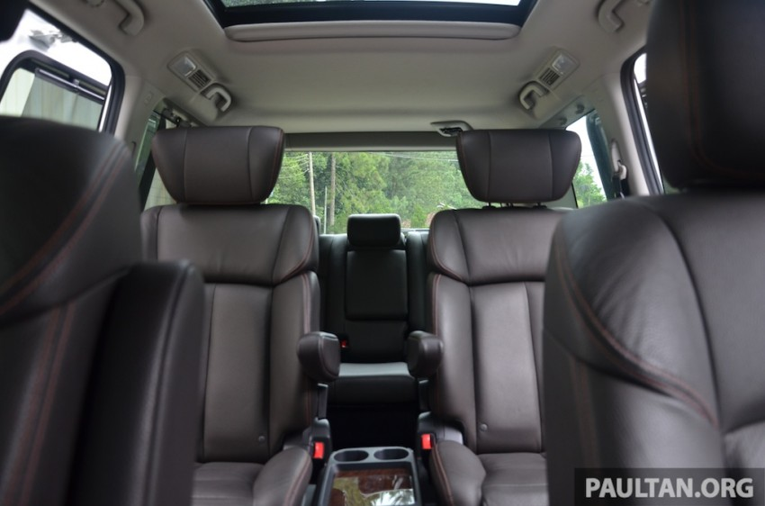DRIVEN: Nissan Elgrand 3.5 V6 – all about comfort Image #219009