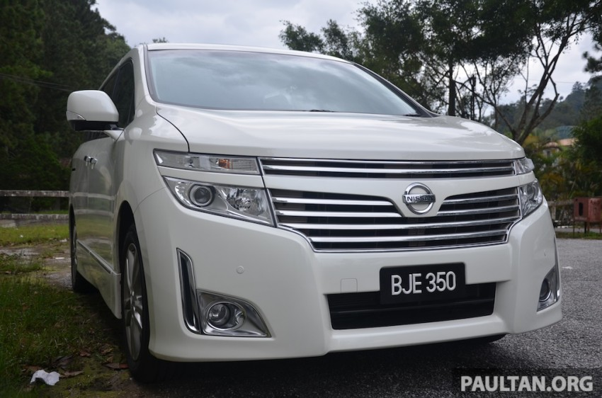 DRIVEN: Nissan Elgrand 3.5 V6 – all about comfort Image #219008