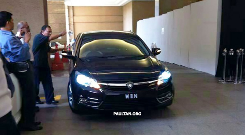 New Proton Perdana based on eighth-gen Honda Accord handed over – PM gets a stretched version! Image #216836