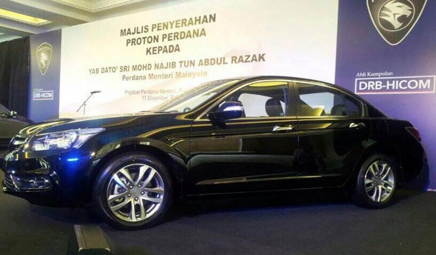 New Proton Perdana based on eighth-gen Honda Accord handed over – PM gets a stretched version! Image #216835