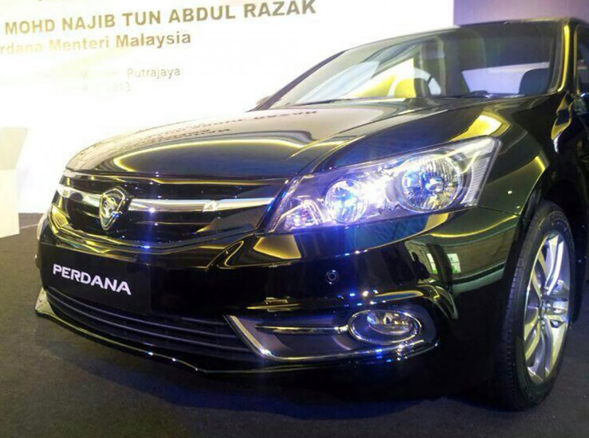 New Proton Perdana based on eighth-gen Honda Accord handed over – PM gets a stretched version! Image #216834