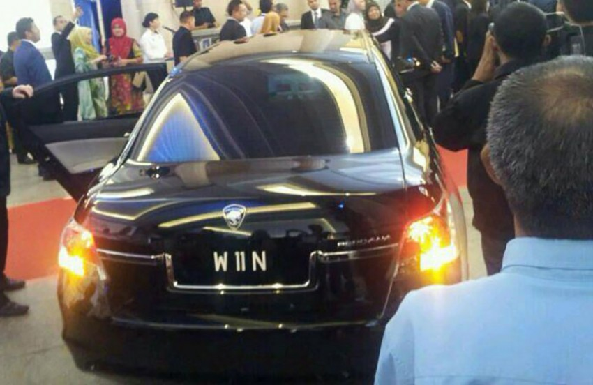 New Proton Perdana based on eighth-gen Honda Accord handed over – PM gets a stretched version! Image #216833
