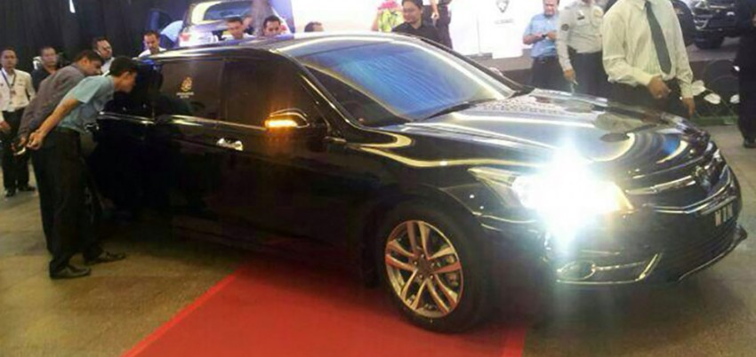 New Proton Perdana based on eighth-gen Honda Accord handed over – PM gets a stretched version! Image #216832