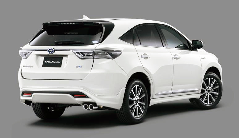 2014 Toyota Harrier Modellista And Harrier Trd Sportivo