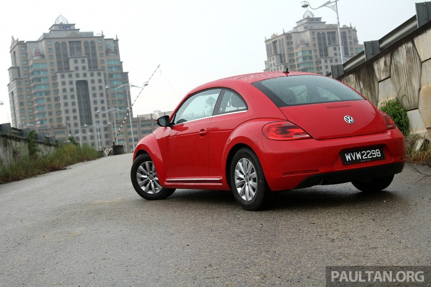 DRIVEN: Volkswagen Beetle 1.2 TSI – reinvented again Image #219286