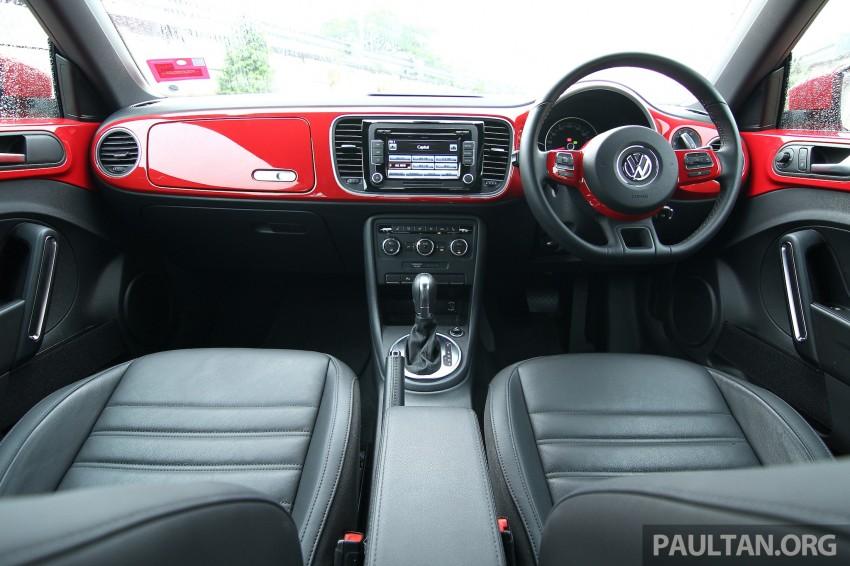 DRIVEN: Volkswagen Beetle 1.2 TSI – reinvented again Image #219275