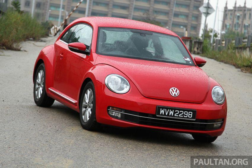 DRIVEN: Volkswagen Beetle 1.2 TSI – reinvented again Image #219291