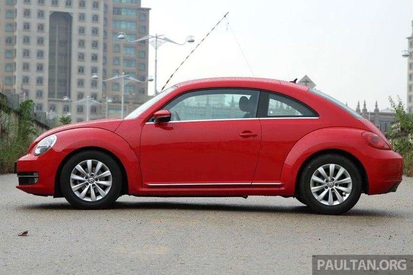 DRIVEN: Volkswagen Beetle 1.2 TSI – reinvented again Image #219289