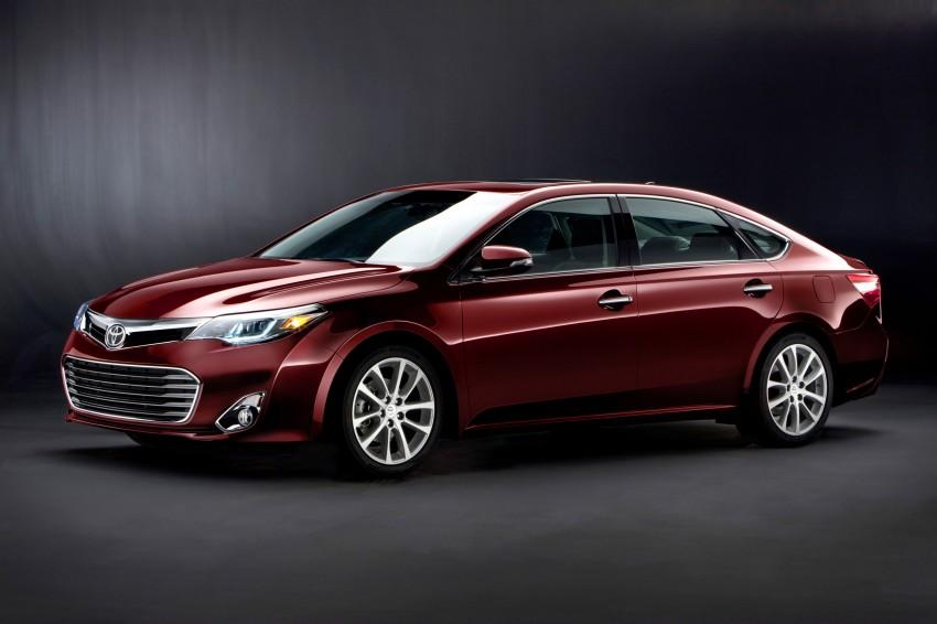 Toyota USA new flagship car unveiled – Toyota Avalon Image #99490