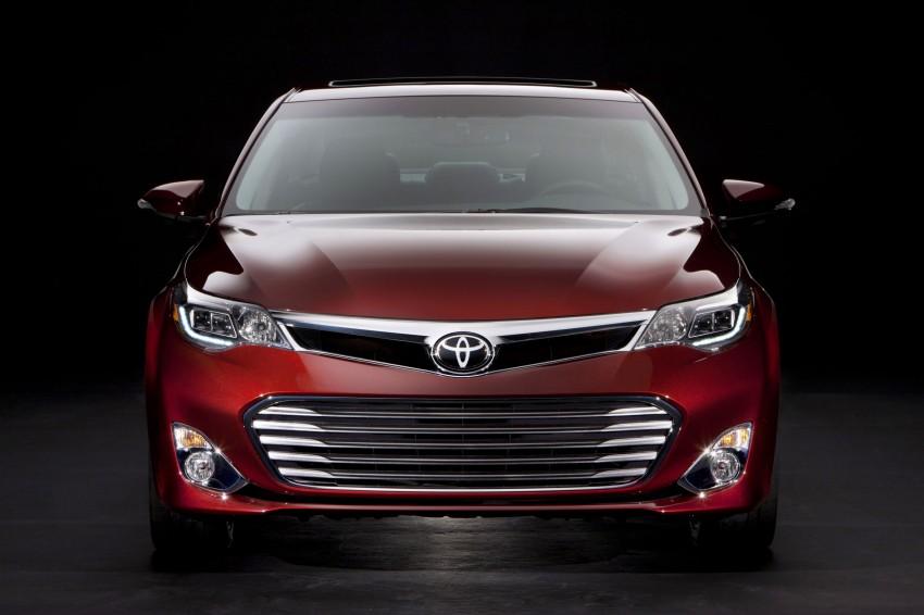 Toyota USA new flagship car unveiled – Toyota Avalon Image #99492