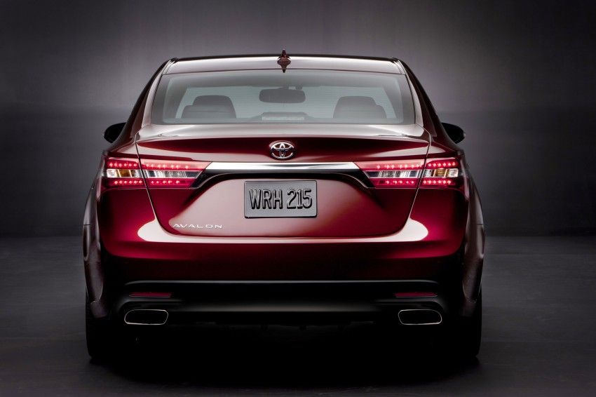 Toyota USA new flagship car unveiled – Toyota Avalon Image #99493