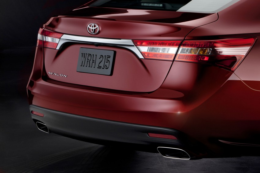 Toyota USA new flagship car unveiled – Toyota Avalon Image #99495
