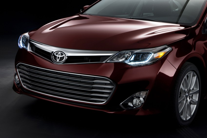 Toyota USA new flagship car unveiled – Toyota Avalon Image #99506