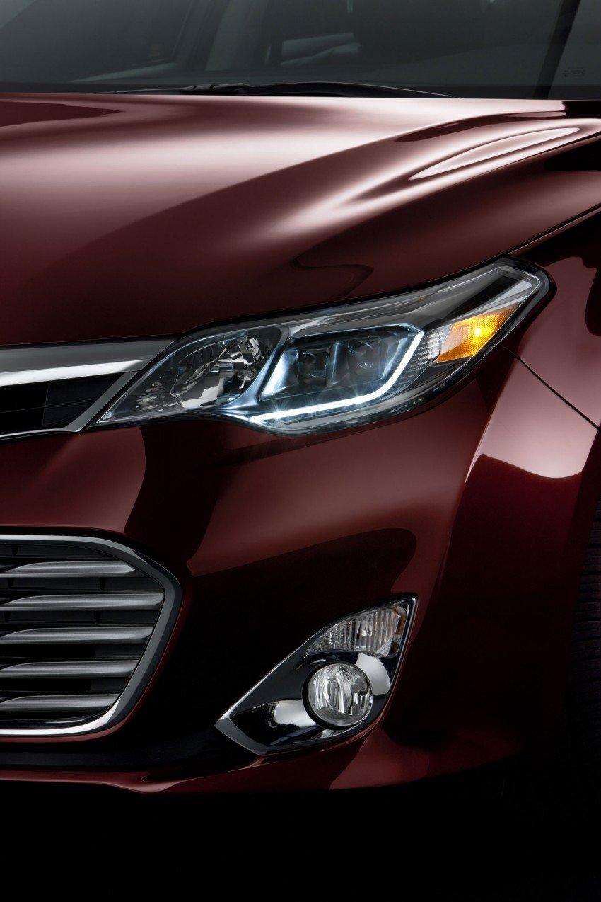 Toyota USA new flagship car unveiled – Toyota Avalon Image #99501