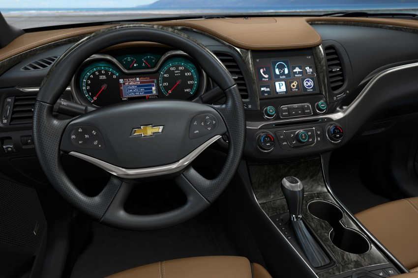 New Chevrolet Impala full-size sedan unveiled in New York Image #99885