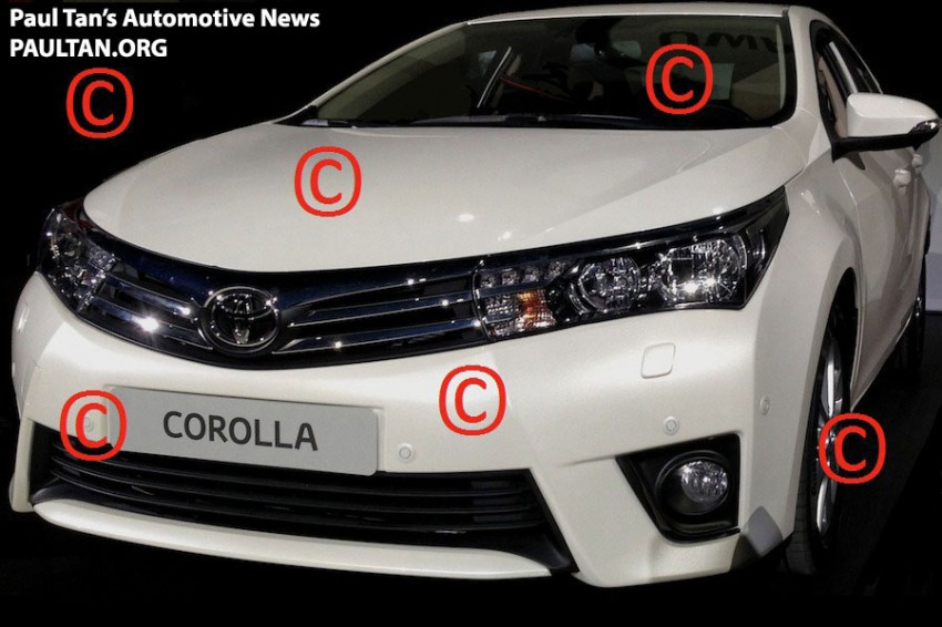 Is this the production next-gen Toyota Corolla Altis? Image #152864