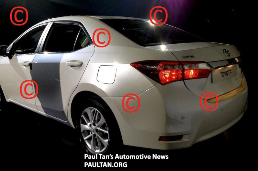 Is this the production next-gen Toyota Corolla Altis? Image #152865