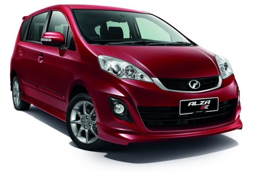 Perodua Alza facelift officially revealed, from RM52,400 Image #221519