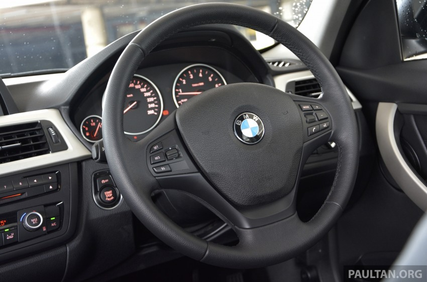 DRIVEN: 2013 BMW 316i – offering a new level of entry Image #220339