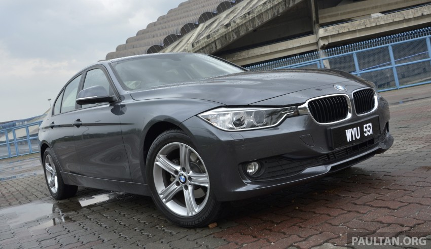 DRIVEN: 2013 BMW 316i – offering a new level of entry Image #220355