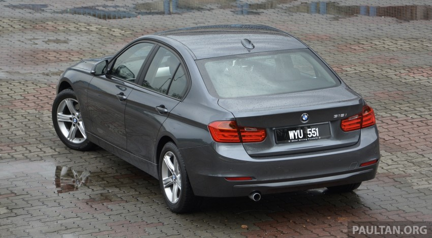 DRIVEN: 2013 BMW 316i – offering a new level of entry Image #220359