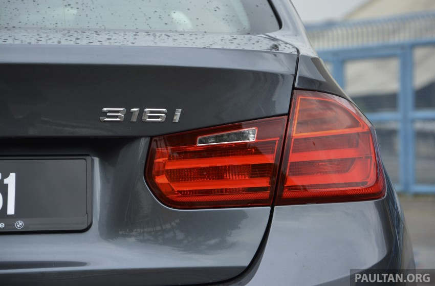 DRIVEN: 2013 BMW 316i – offering a new level of entry Image #220360