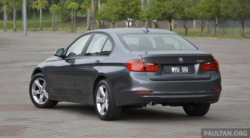 DRIVEN: 2013 BMW 316i – offering a new level of entry Image #220316