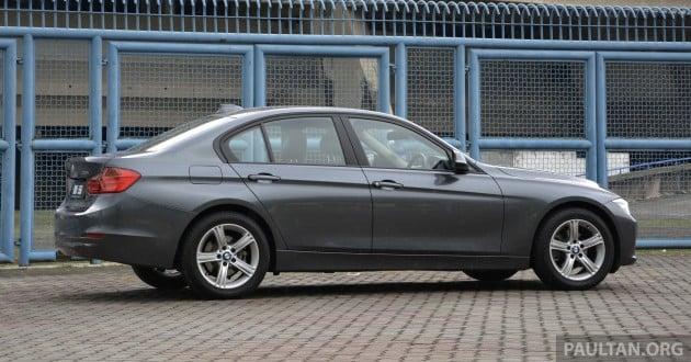 2013 F30 BMW 316i 9
