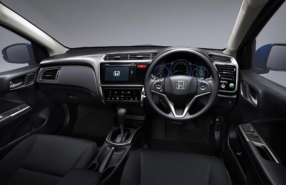 2014 Honda City Launched In Thailand Two Airbags And Vsa