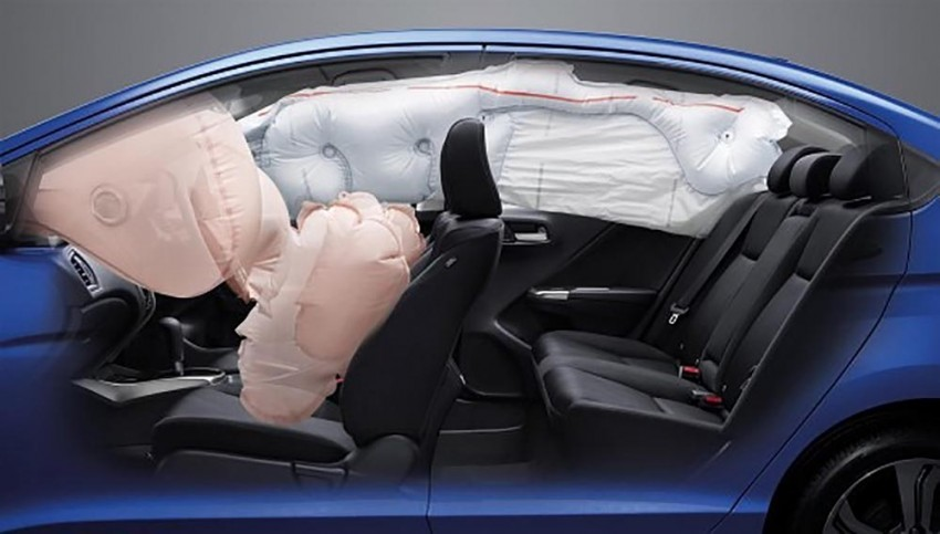 2014 Honda City launched in Thailand – two airbags and VSA standard, six airbags an option Image #223936